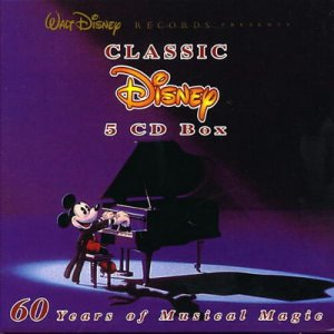 Classic Disney 60 Years of Musical Magic [5 CDs]