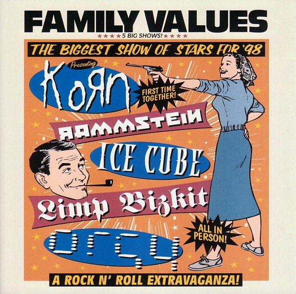 Various Artists - Family Values Tour '98